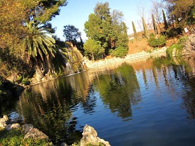 Cascada en el Parque de Torreblanca