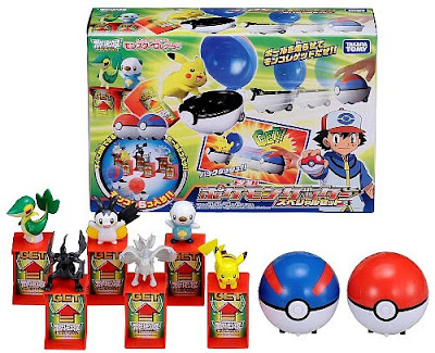 Snivy figure Takara Tomy Monster Collection Moncolle Getter Special play set