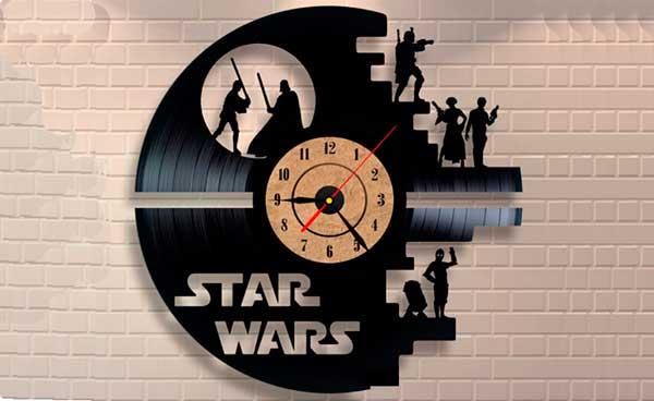 Relógio de parede criativo Disco de Vinil