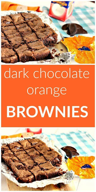 Dark Chocolate Orange Brownies