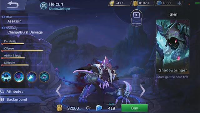 Tips Pakai Hero Helcurt Mobile Legends agar selalu menang