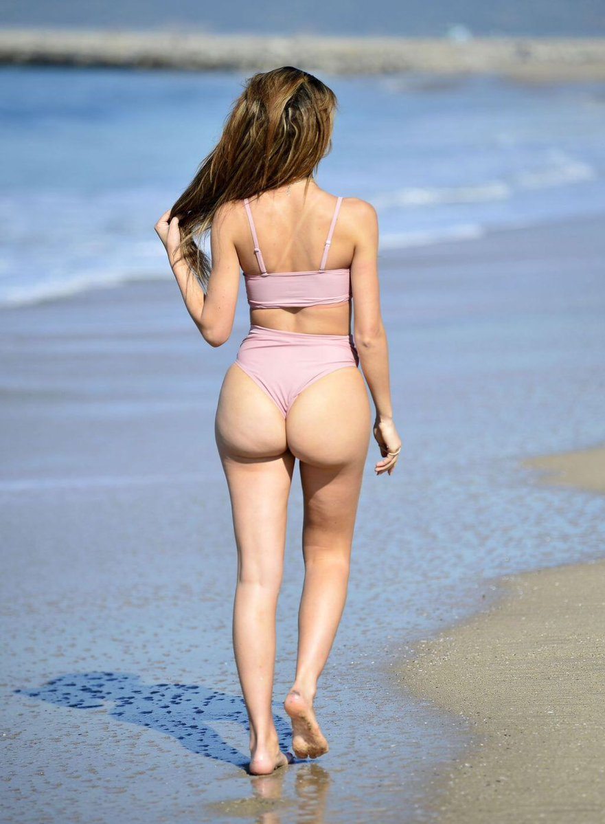 Farrah Abraham shows off surgically enhanced bottom in LA