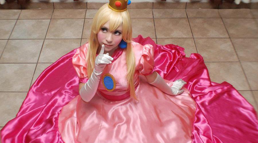 cewek cantik dan manis putri dan prince daisy mario bross