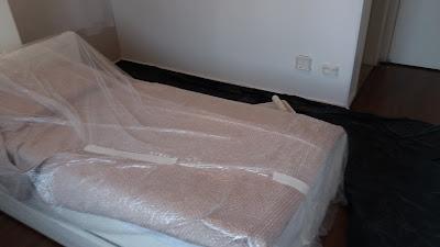 Ambiente forrado para pintura de quartos SP