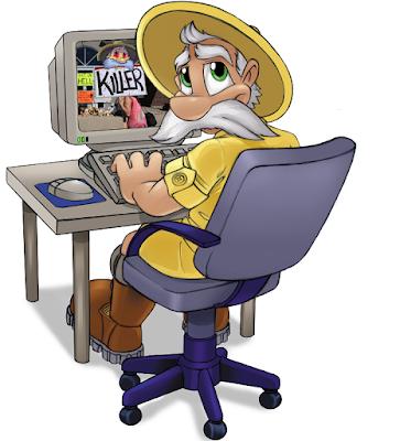 Sabreman Computer render