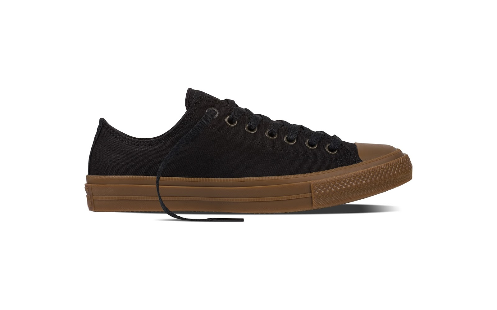 6ad42d919db0 The Chuck II Gum is available in both low top and high top styles.  Available colours includes  black