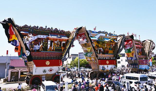 Seihaku-sai at Otokonushi-jinja Shrine,, Nanao, Ishikawa
