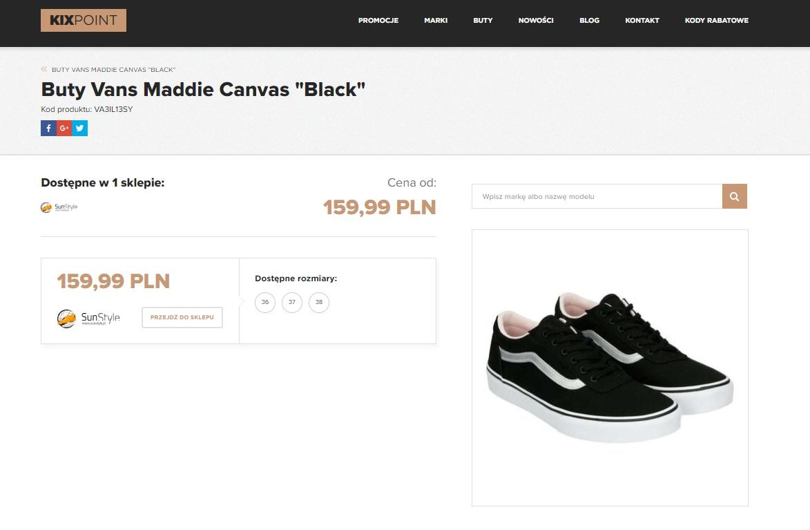 Znajdź buty w dobrej cenie Kixpoint   Zuzka Pisze