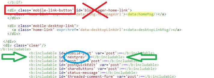 Error para quitar página principal en Blogger.