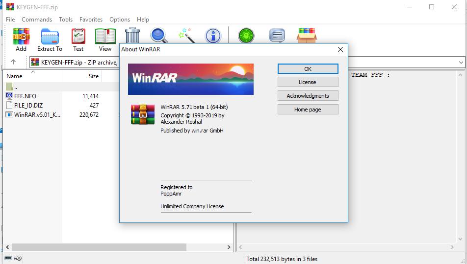 برنامج WinRAR 5 71 Beta 1 + Keygen كامل بالتفعيل   PoppAmr