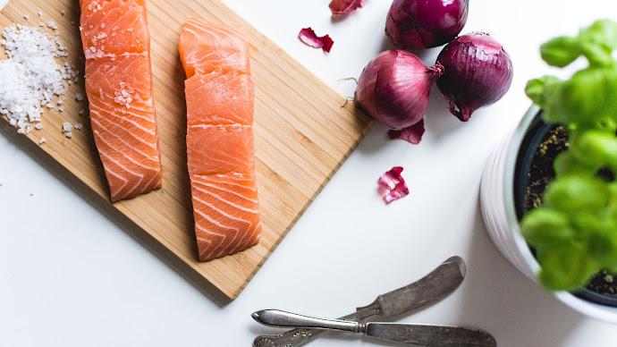 Wallpaper: Salmon Fillets