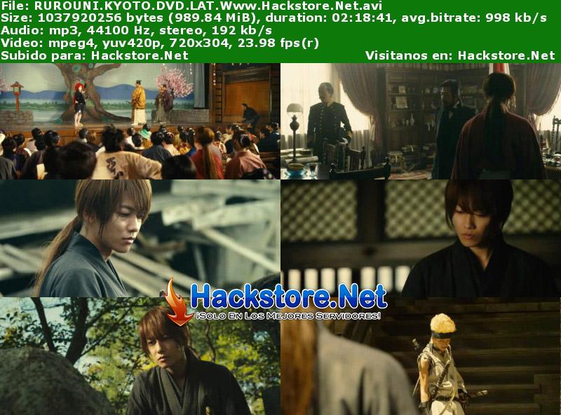 Capturas de Rurouni Kenshin: Kyoto Inferno (2014) DVDRip Latino