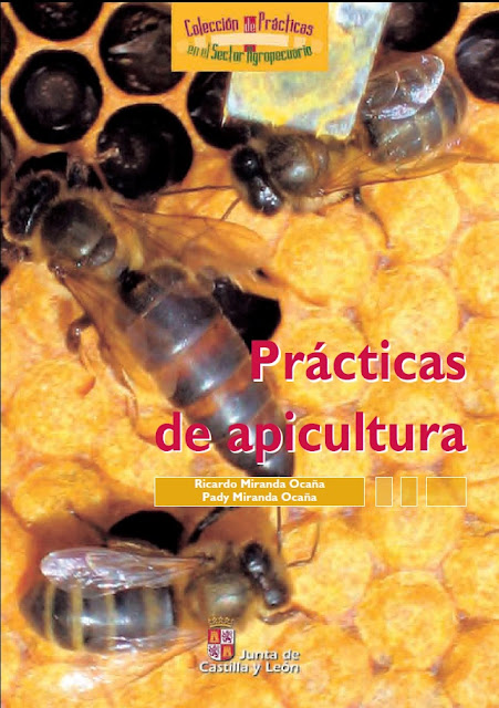 "MANUAL ""PRACTICAS DE APICULTURA"" - BOOK ""BEEKEEPING PRACTICES""."