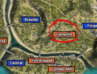Berikut Lokasi Harta Karun Free Fire Hari ke 23 Map Purgatory.