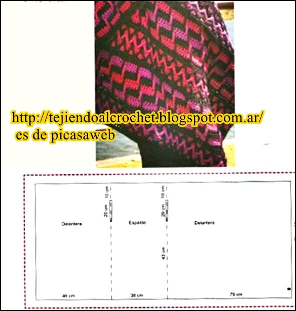 TEJIDOS A CROCHET - GANCHILLO - PATRONES