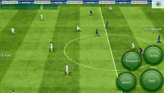 Game sepak bola dengan grafis HD