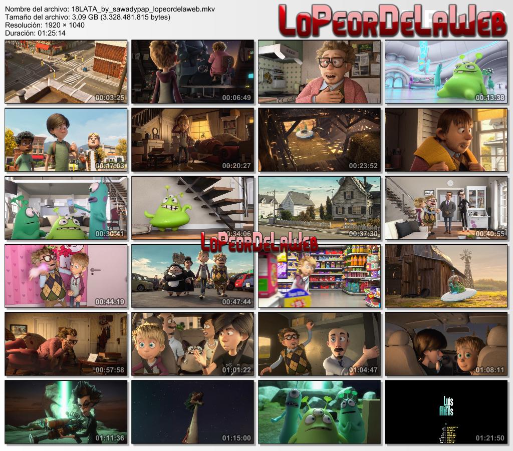 Luis and the Aliens [2018] [BBRip 1080p] [Dual Audio]