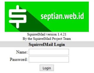 Cara Mengganti Logo Squirrelmail dengan Logo Kita Sendiri