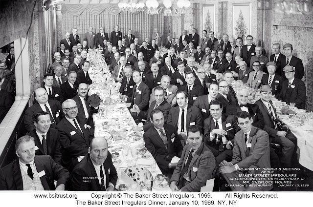 The 1969 BSI Dinner group photo