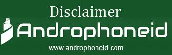 Disclaimer Androphoneid