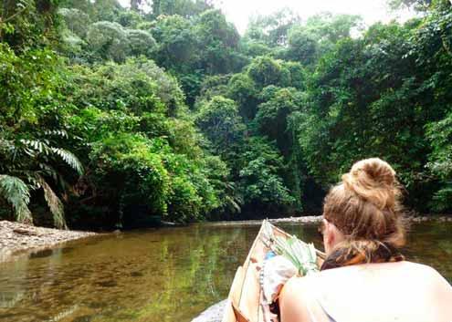 21 Atractivos turísticos del cantón Aguarico