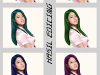 Cara Merubah Warna Rambut Sesuai Keinginan | Photoshop Effect