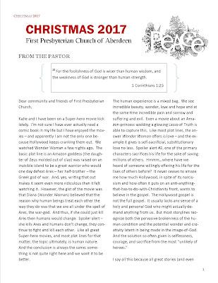 e-Newsletter First Presbyterian Church of Aberdeen