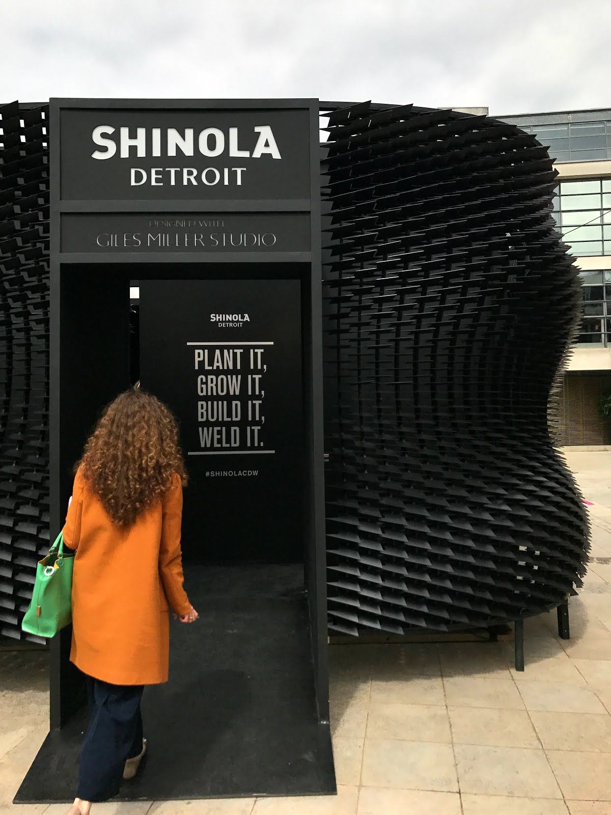 Shinola watches, Giles Miller Studio, installation, surface design