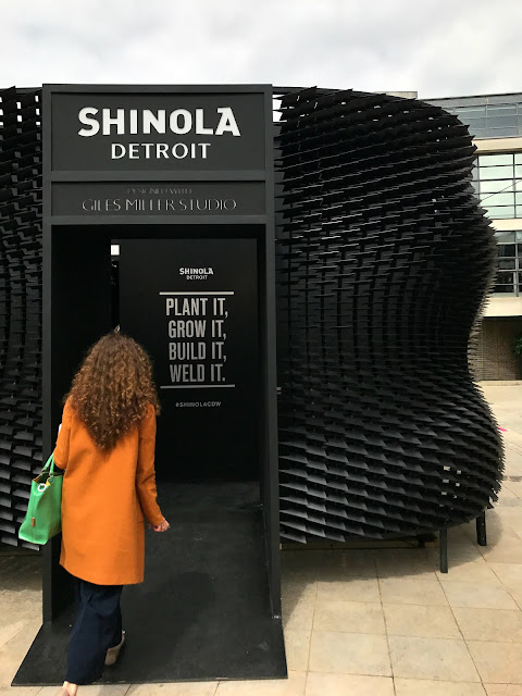 Shinola watches, Giles Miller Studio, installation, surface design