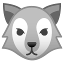 Wolf emoji