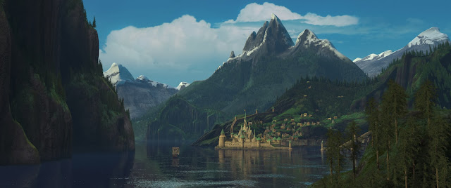 The enchanted kingdom of Arendelle from Disney's 'Frozen.' Photo: ©Disney.