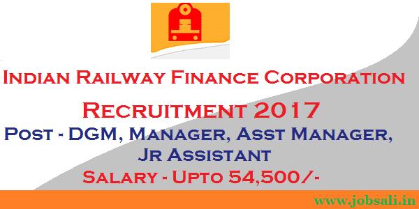 Railway Finance Jobs, Railway vacancy, accounting jobs in Railway