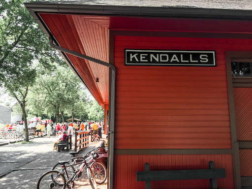 Kendall Depot on the Elroy Sparta State Trail