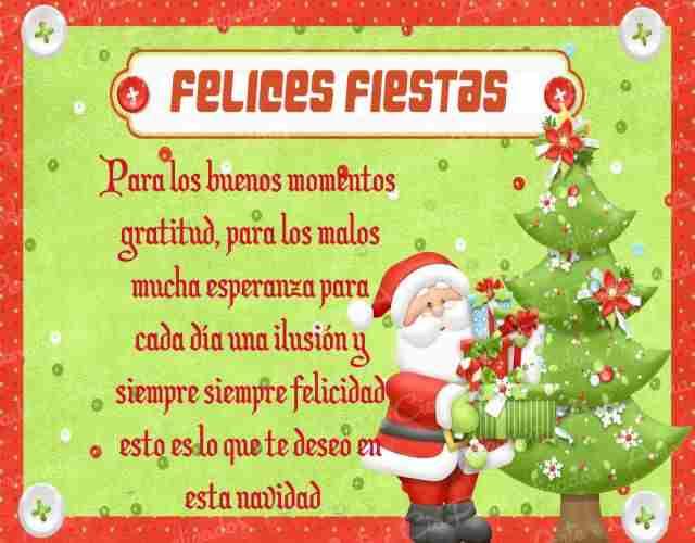 Tarjetas con lindos mensajes navideños