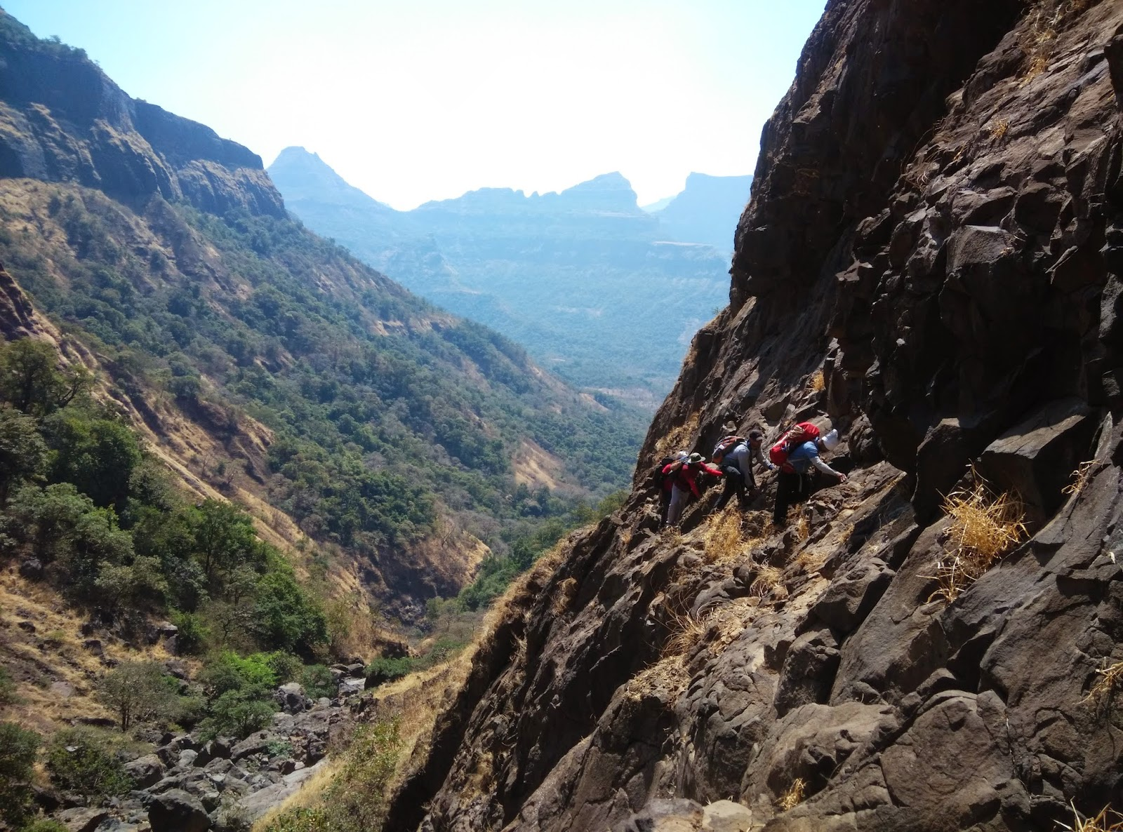 harishchandra Gad via new route Taramati ghal