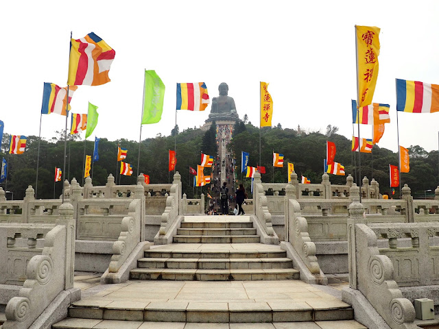 The Big Buddha, Lantau Island, Hong Kong