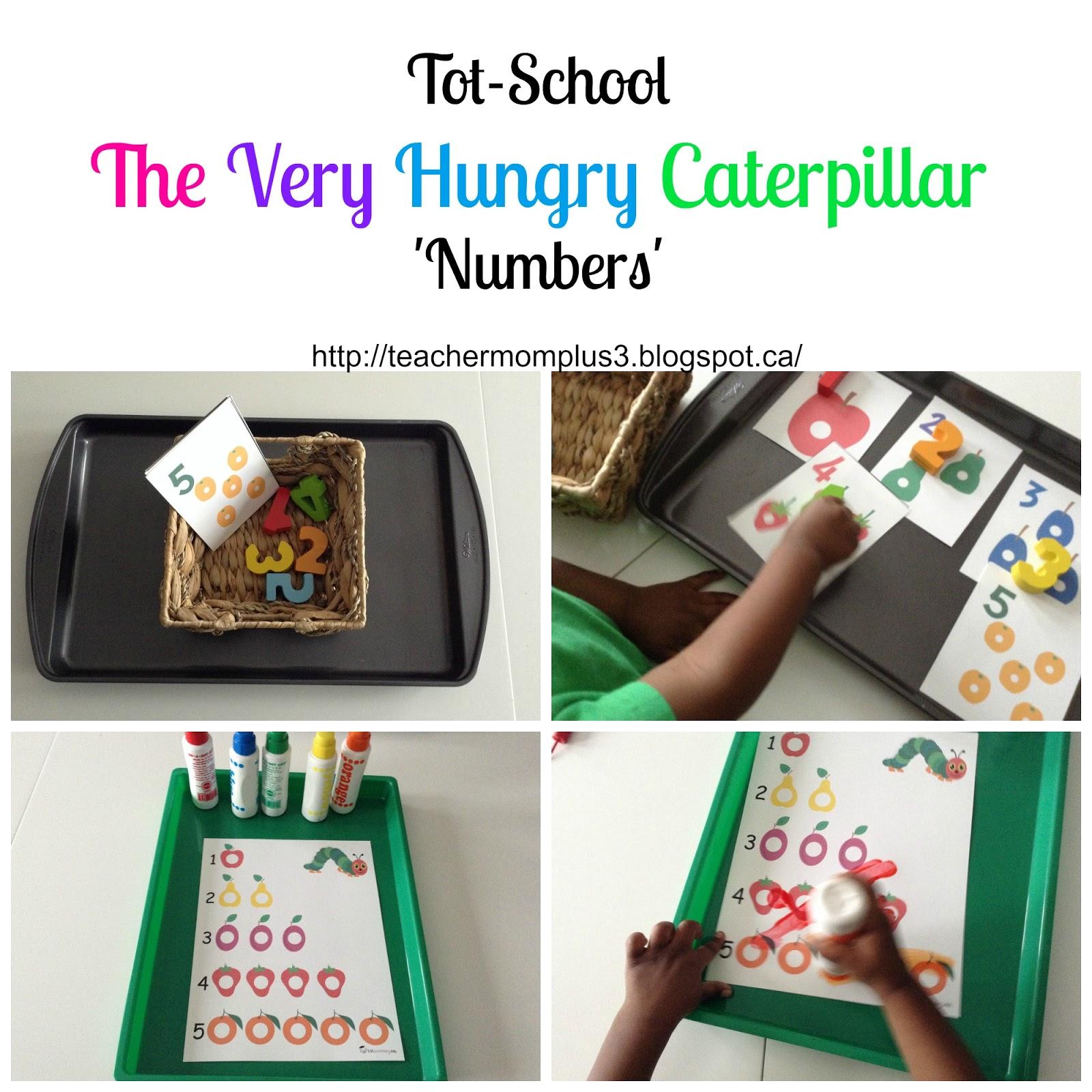 Teachermomplus3 Tot School The Very Hungry Caterpillar