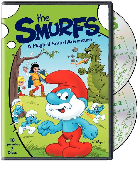 The Smurfs: A Magical Smurf Adventure On DVD Review