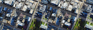 perth city cross-eyed parallax 3d image