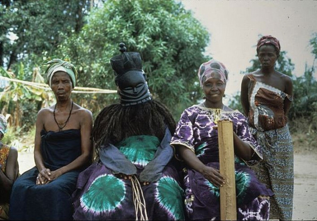 African anal tribal ceremonies have