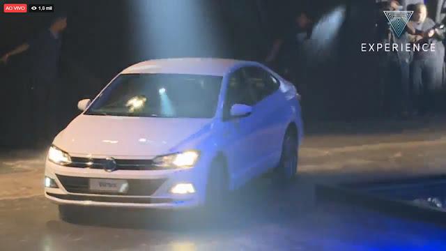 VW Virtus 2018 estreia no Brasil por R$ 59.990 reais - detalhes, versões e preços