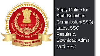 Staff Selection Commission Recruitment, SSC Jobs, Government Jobs