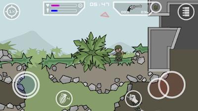 Doodle Army 2 : Mini Militia v2.2.15 Apk Mod Unlocked