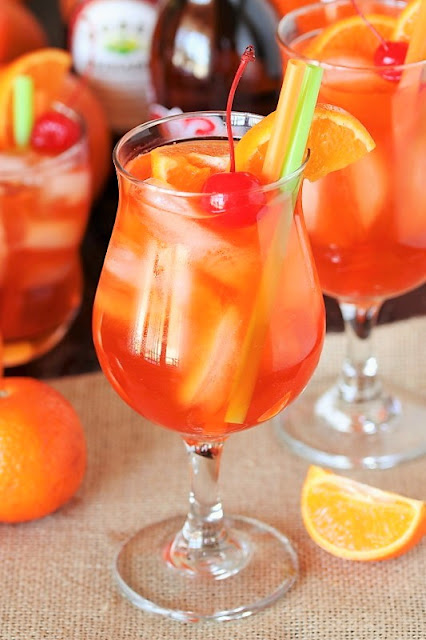 Orange Creamsicle Shirley Temple image