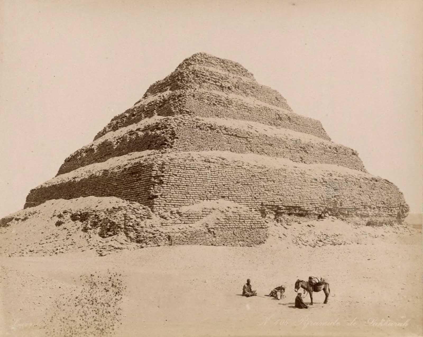 Pirámide de Djoser en Saqqar.