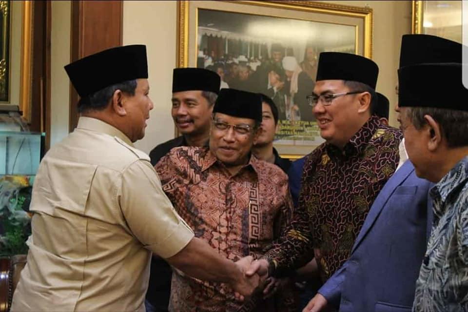 Prabowo: Saya Nyaman dengan NU, Islam yang Berdiri di Atas Tradisi Indonesia