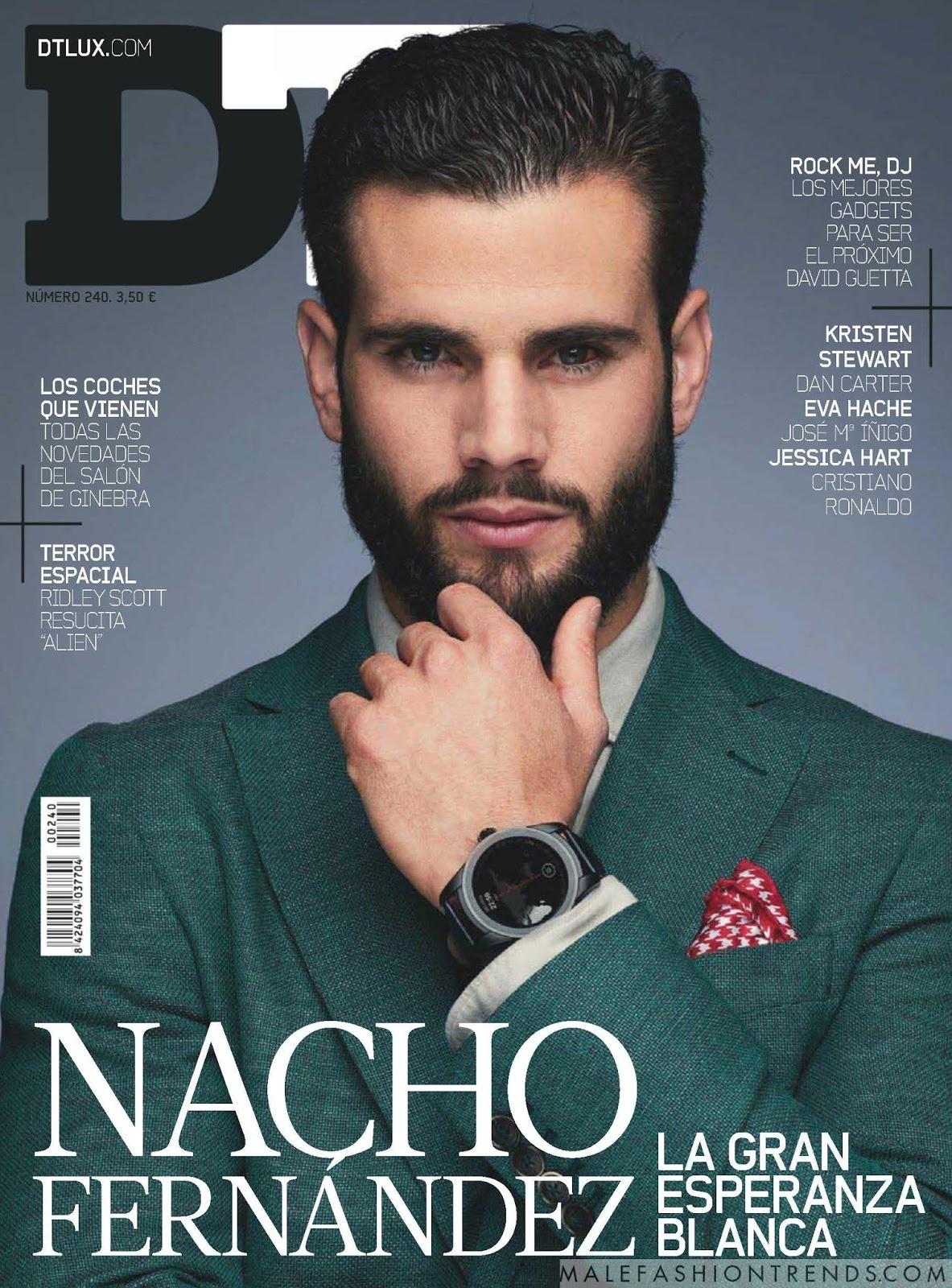 Nacho Fern 225 Ndez Para Dt Lux Magazine Male Fashion Trends