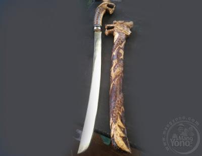 Foto 1 : Golok Seni Ukir Solder SUBANG, Manggala Jati Diri