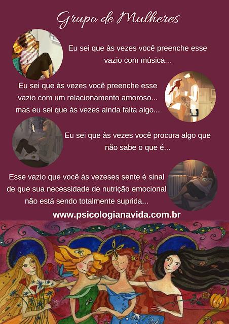 Grupo Terapêutico para Mulheres, feminino sagrado, feminino selvagem
