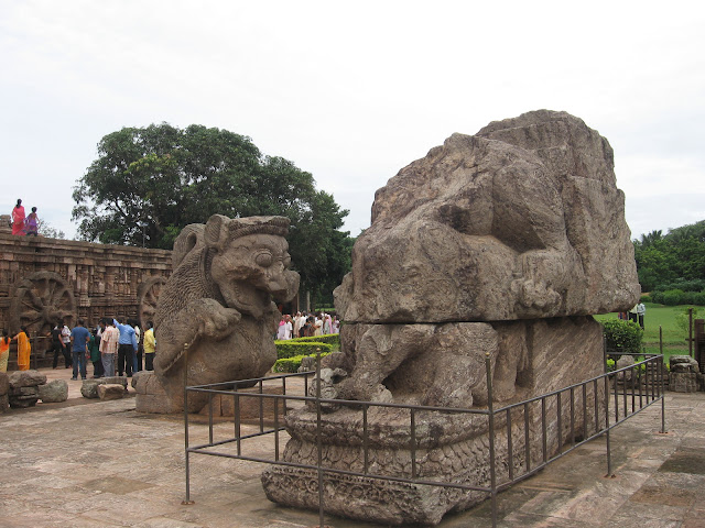 Sculptures of Sun Temple, Konark
